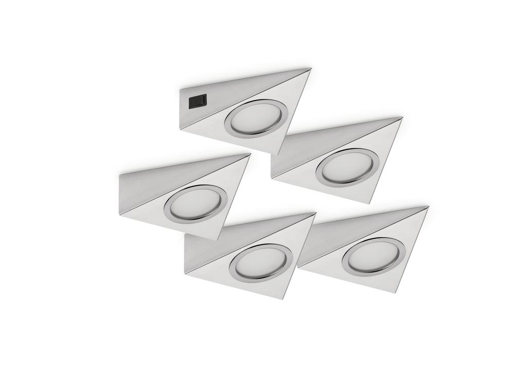 Razzo 1 LED, Unterboden-/Nischenleuchte, Set-5