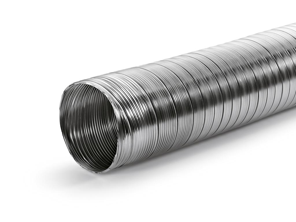 A-PXO Alu-Flexschlauch rund, Schlauch, Ø 127 mm, gestauchte Länge 400 mm