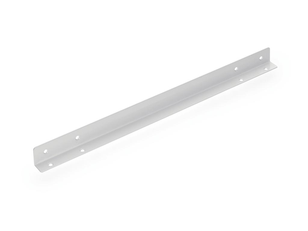 APL-Befestigungswinkel, Verbindungsmaterial, L 535 mm, weiß